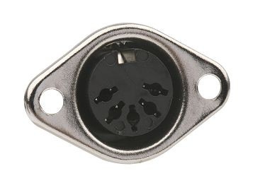 Push Lock Din Socket